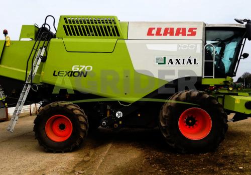 Claas Lexion 670 4WD