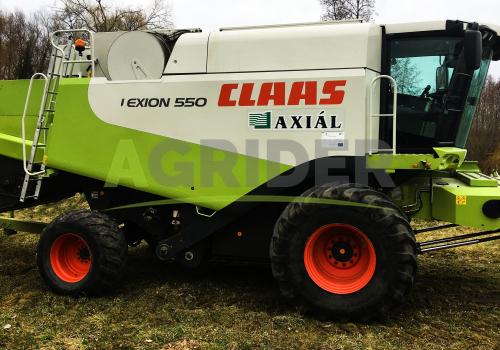 Claas Lexion 550 4WD