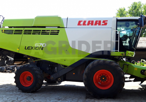 Claas Lexion 670