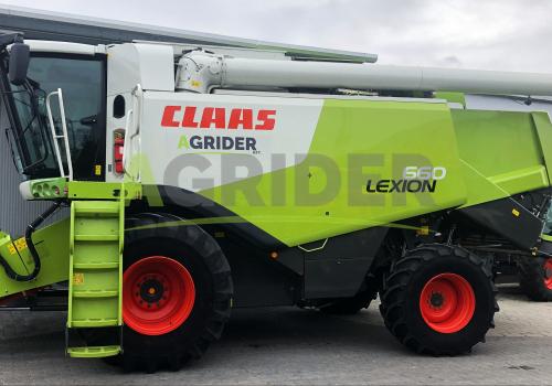 Claas Lexion 660 4WD