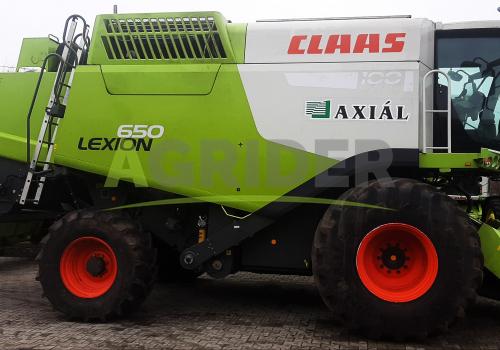 Claas Lexion 650 4WD